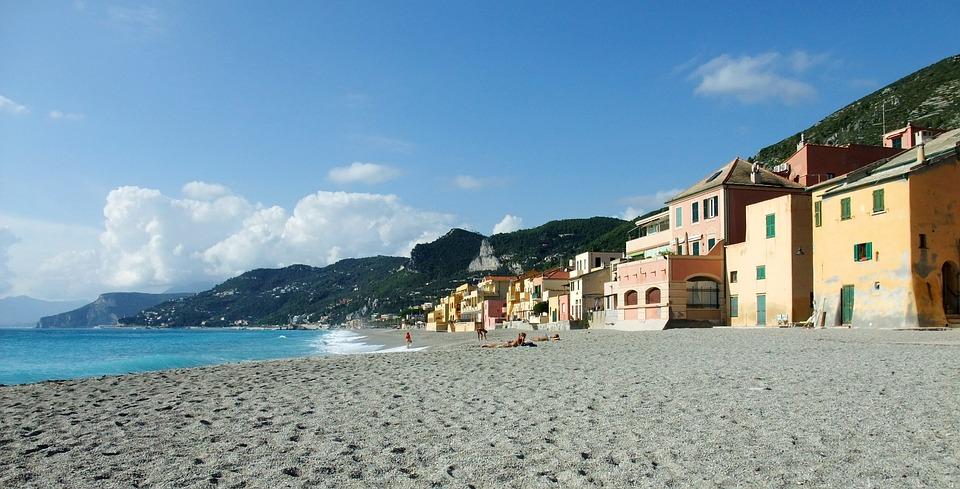 Varigotti, Italy, Beach, Holiday