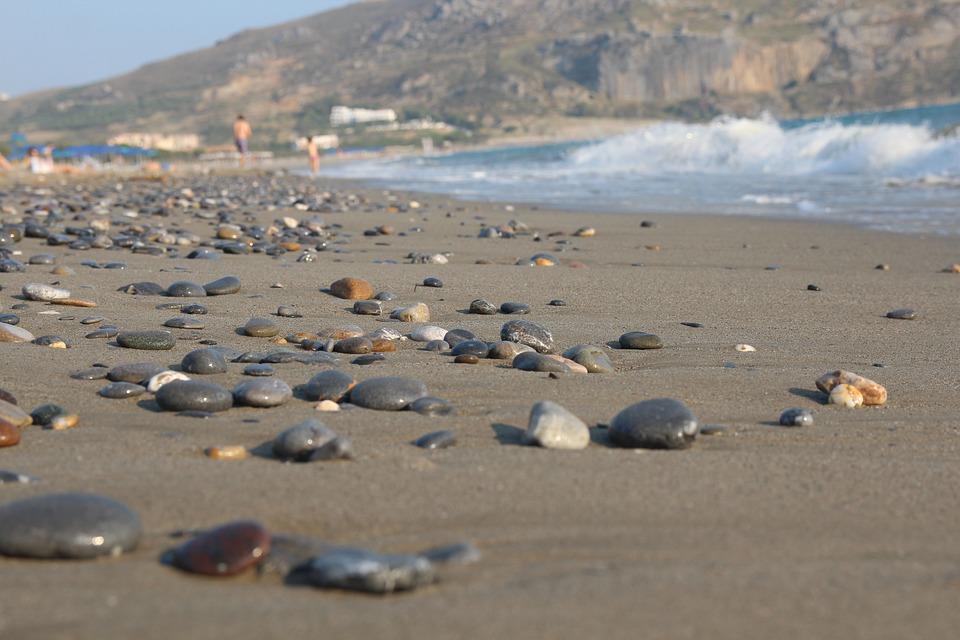 Beach, Island Of Crete, Greece, Holiday, Water, Sea