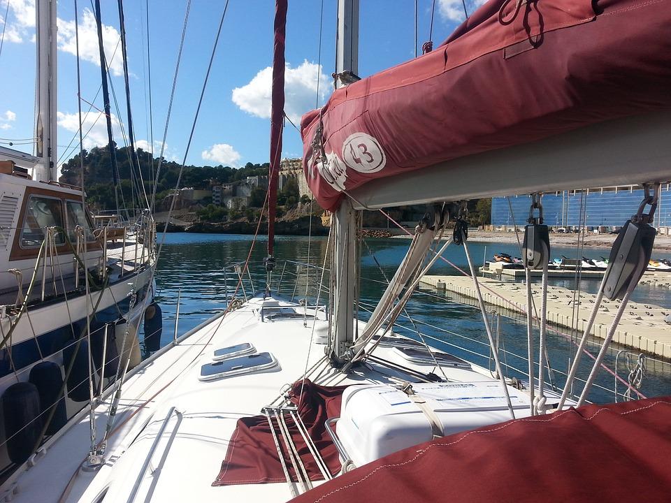 Sailboat, Sea, Mediterranean, Boat, Altea, Holiday