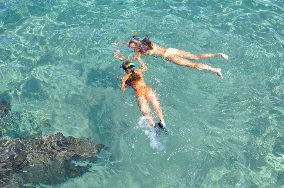 Snorkeling, Water, Bright, Holiday, Diving, Blue, Sea
