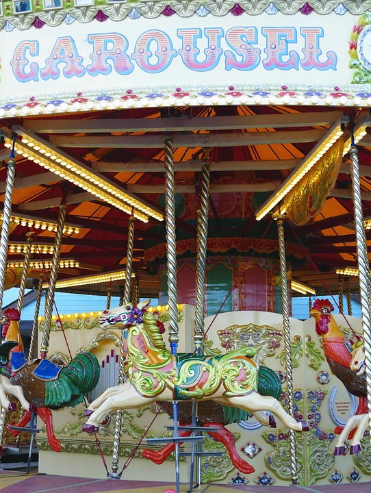free photo holiday carnival carousel tourism art festival max pixel