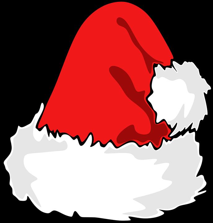 8c87f3ea19c8a Free photo Holiday Christmas Santa Santa Hat White Hat Red - Max Pixel