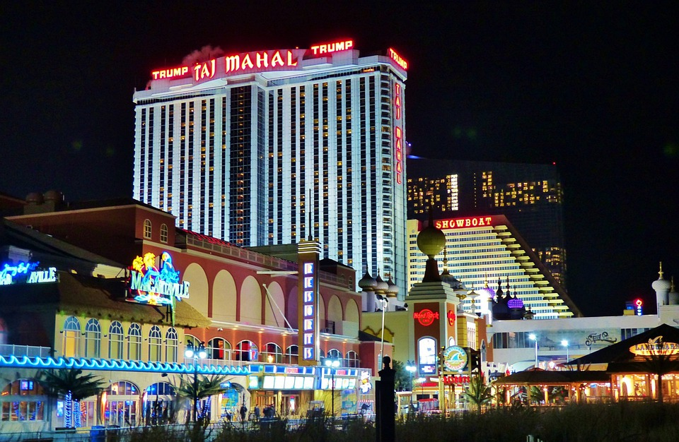 Atlantic, City, Ocean, Holiday, Boardwalk, Hotels