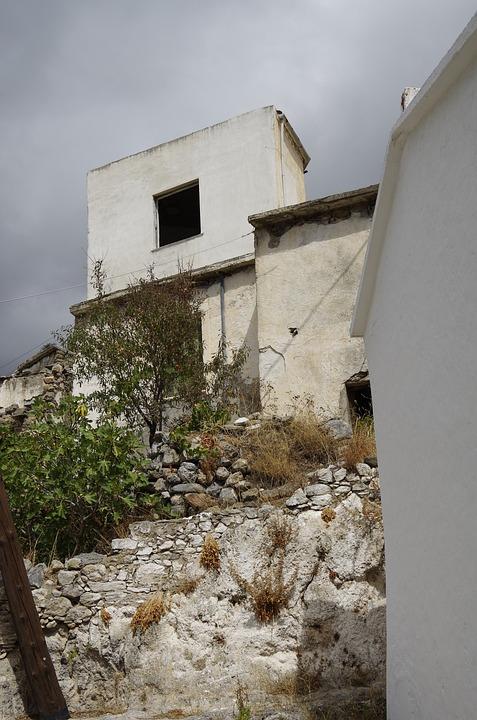 Crete, Greece, Sky, Weather, Houses, Holiday, Alleyways
