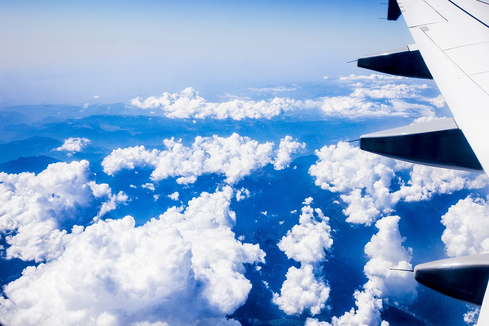 Plane, Clouds, Air, Heaven, Fly, Cloud, Holiday, View