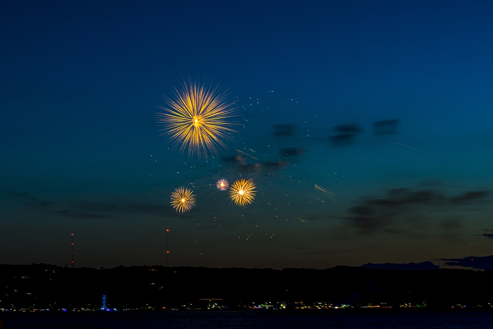 Fireworks, Independence Day, July, Celebration, Holiday