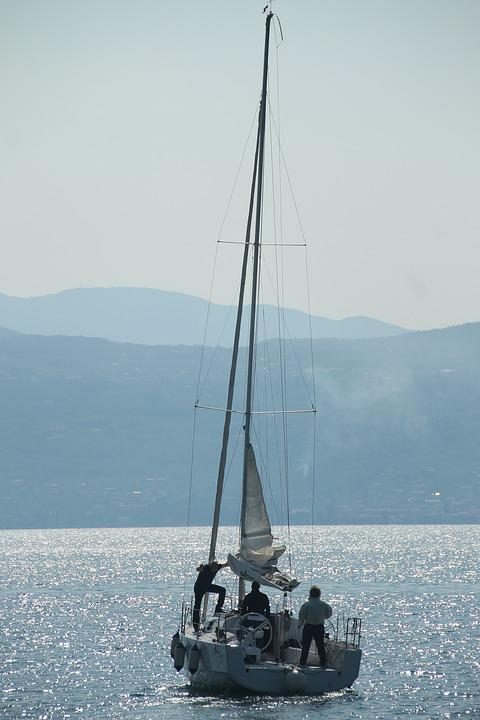 Garda, Holiday, Italy, Sail, Limone