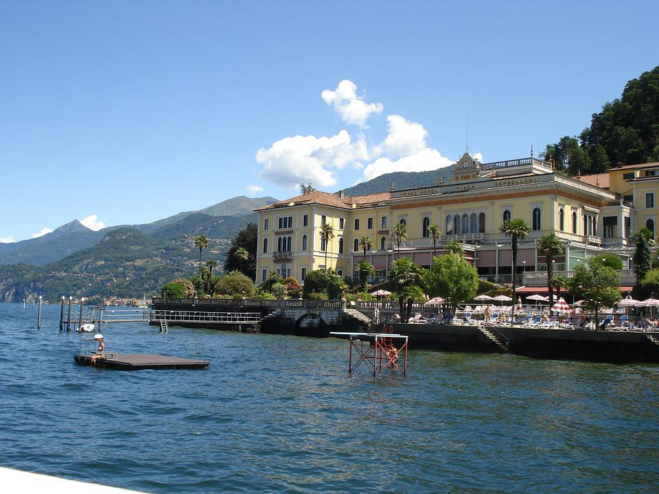 Lake Como, Lake, Summer, Holiday, Italy