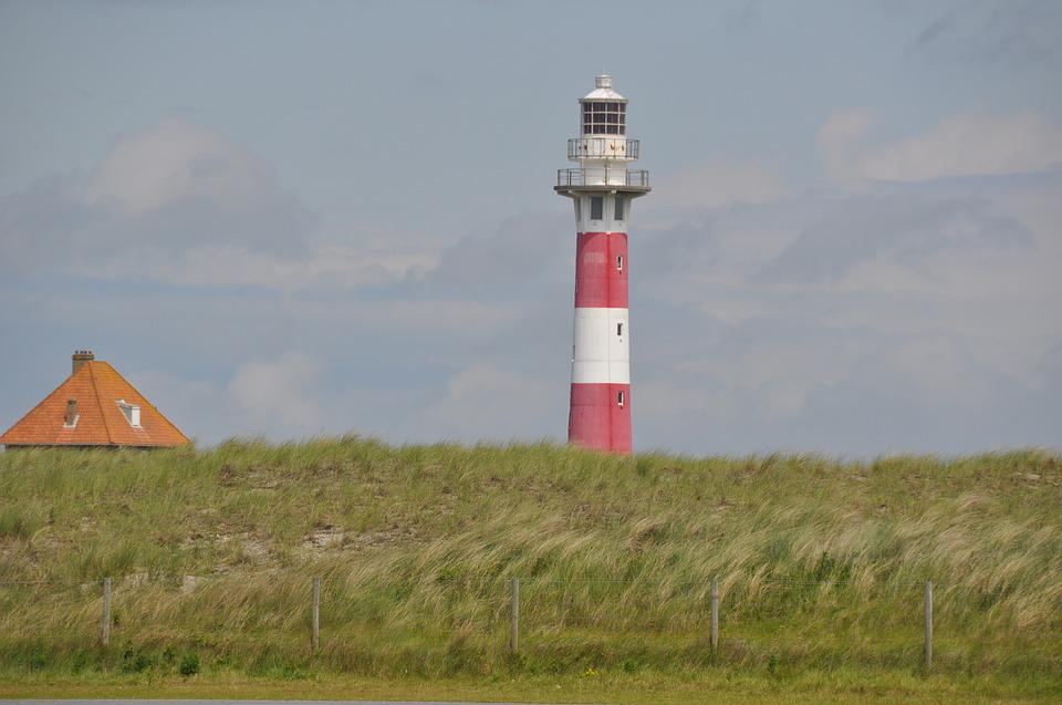 Lighthouse, At The Seaside, Holiday, Nieuwpoort