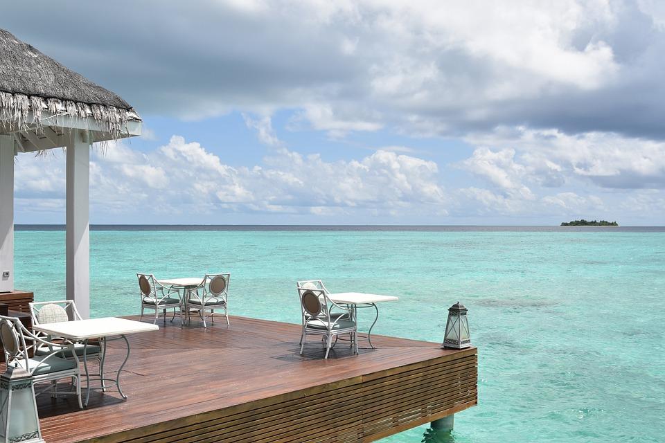Maldives, Resort, Holiday, Beach, Island, Sea, Sky