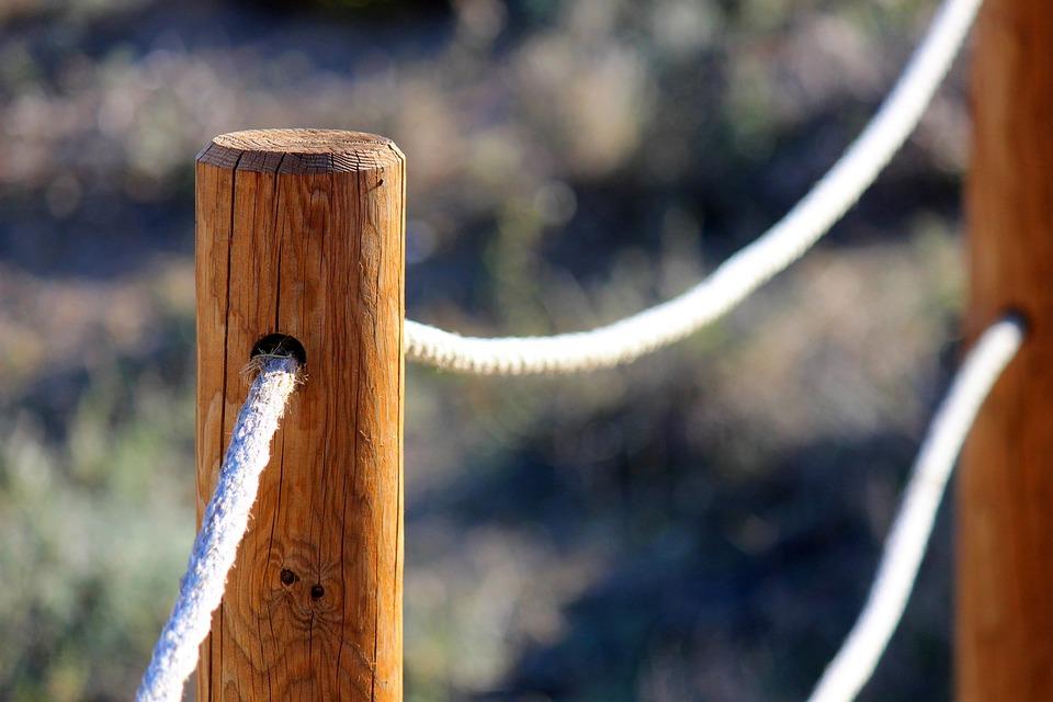 Poles, Strings, Beach, Holiday