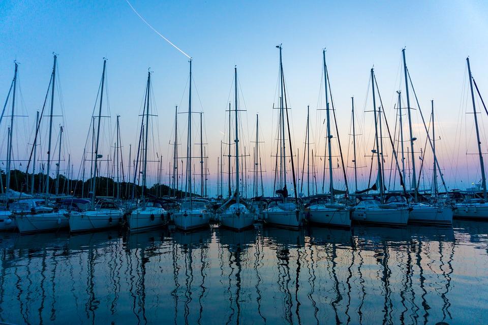 Port, Sea, Sailing Boat, Croatia, Holiday, Boats, Water