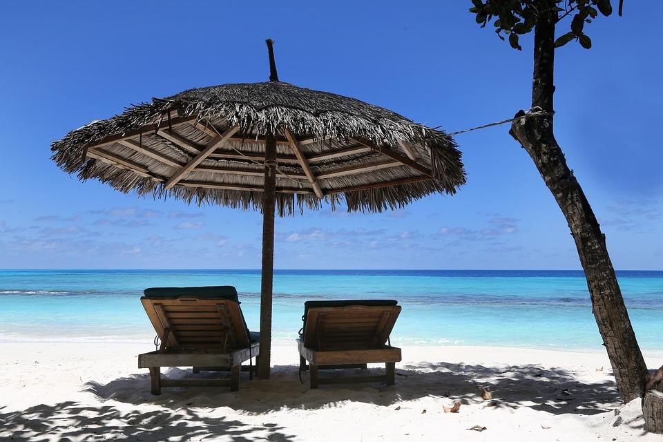 Maldives, Holiday, Summer, Sky, Water, Blue, Island