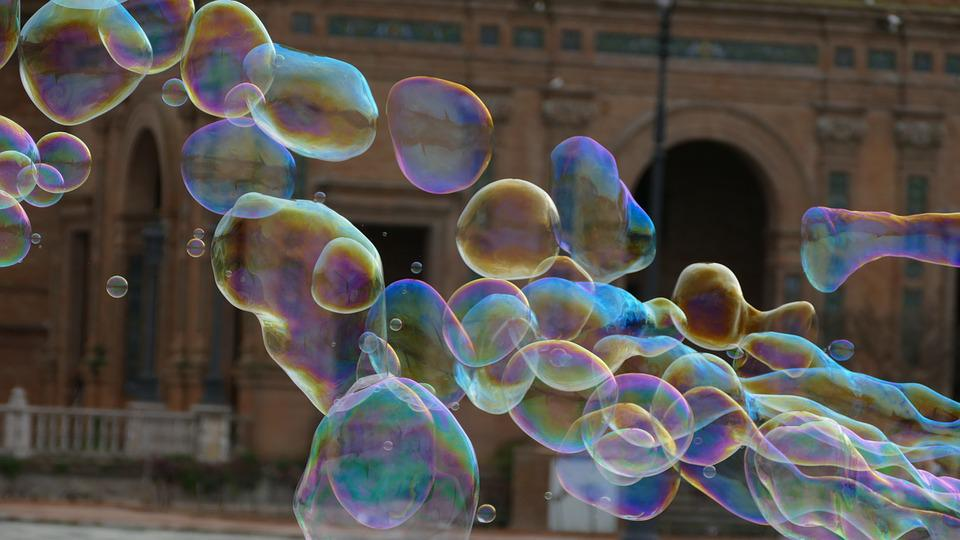 Seville, Soap Bubbles, Holiday, Spring