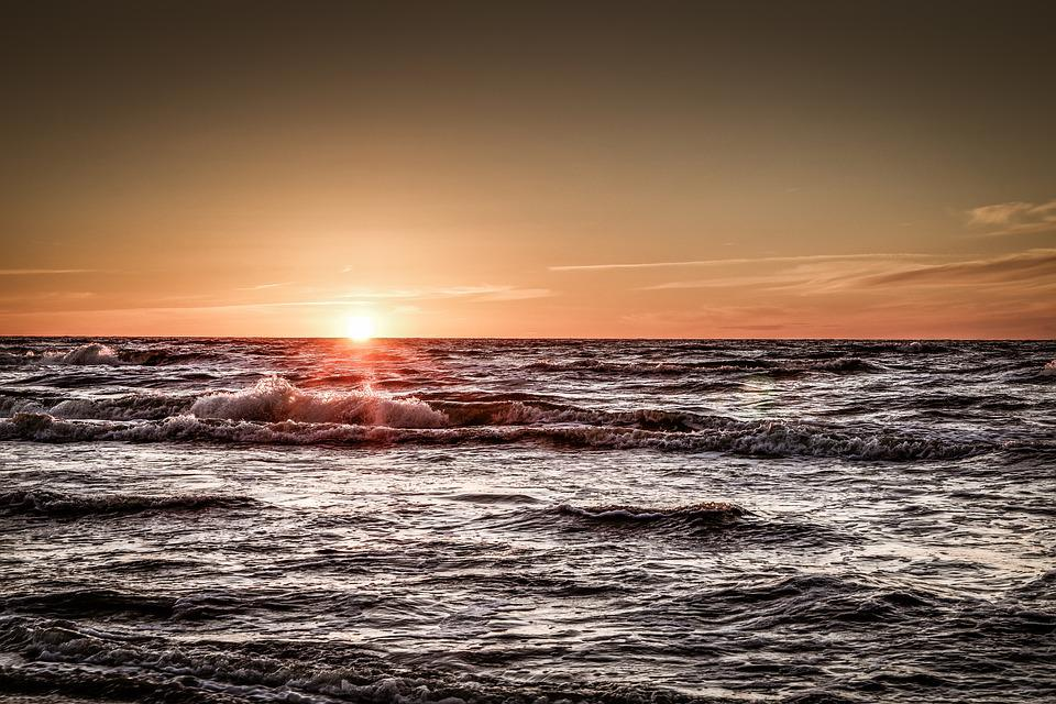 Sea, Sunset, Holiday, Relaxation, Ocean, The Horizon