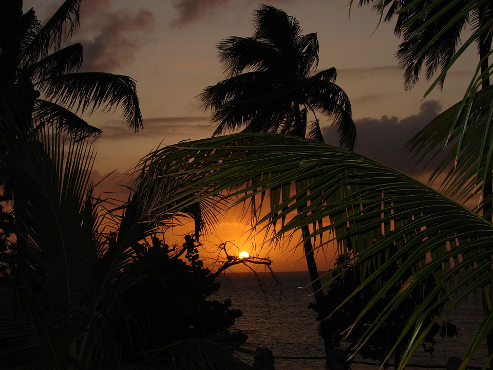 Caribbean, Sunset, Summer, Travel, Vacation, Holiday