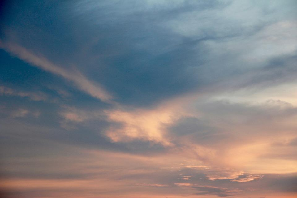 Sky, Clouds, Sunset, Shadow, Thailand, Summer, Holiday