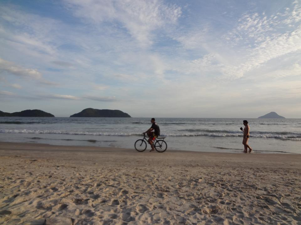 Beach, Holidays, Bike, Summer, Beira Mar, Heat, Sand