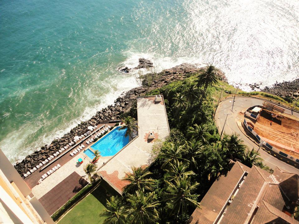 Beach, Pool, Holidays, Trip, Brazil, Blue, Tourism