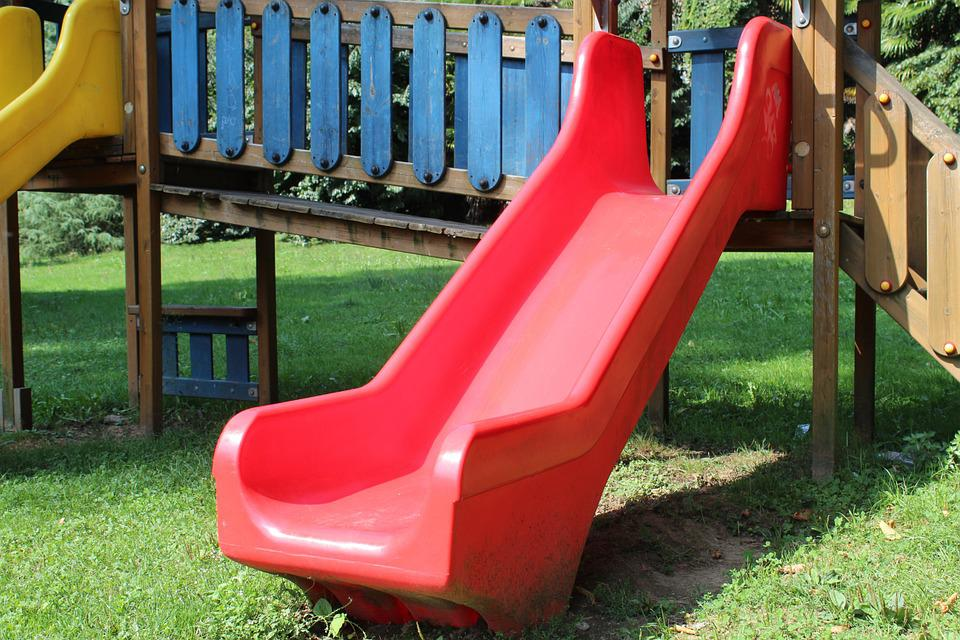 Slide, Games, Playground, Children, Holidays, Game