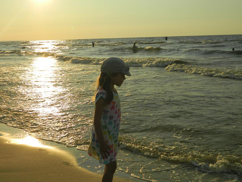 Child, Sea, Holidays, Landscape, Holiday, Poland