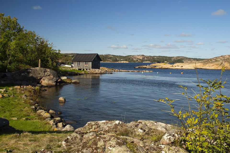 Sweden, Coast, Sea, Nature, Landscape, Holidays