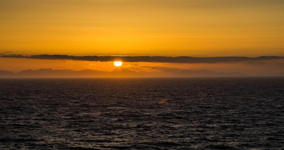 Sunset, Ocean, Canada, Sea, Clouds, Nature, Holidays