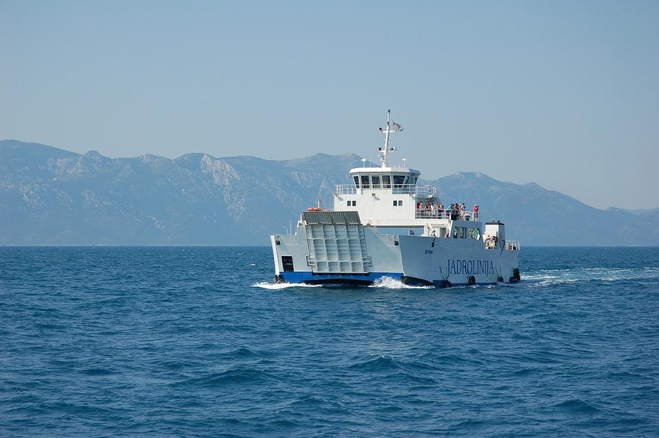 Croatia, Holidays, Sea, Ship