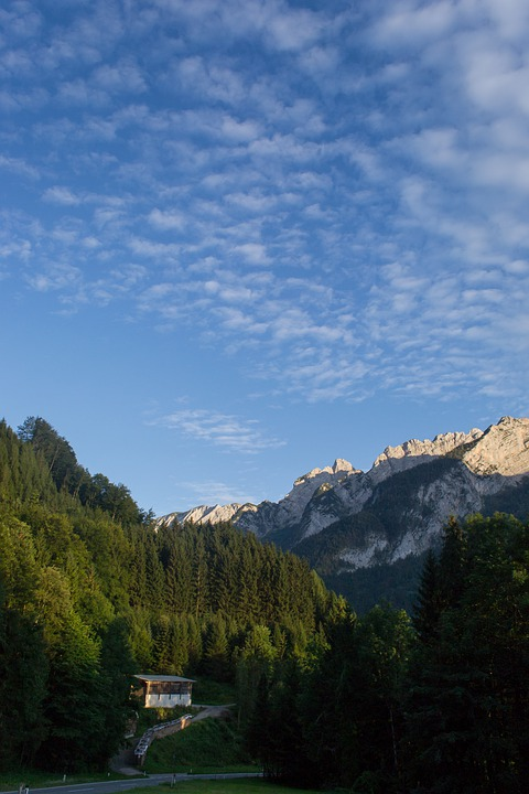 Austria, Mountains, Nature, Sky, Summer, Holidays