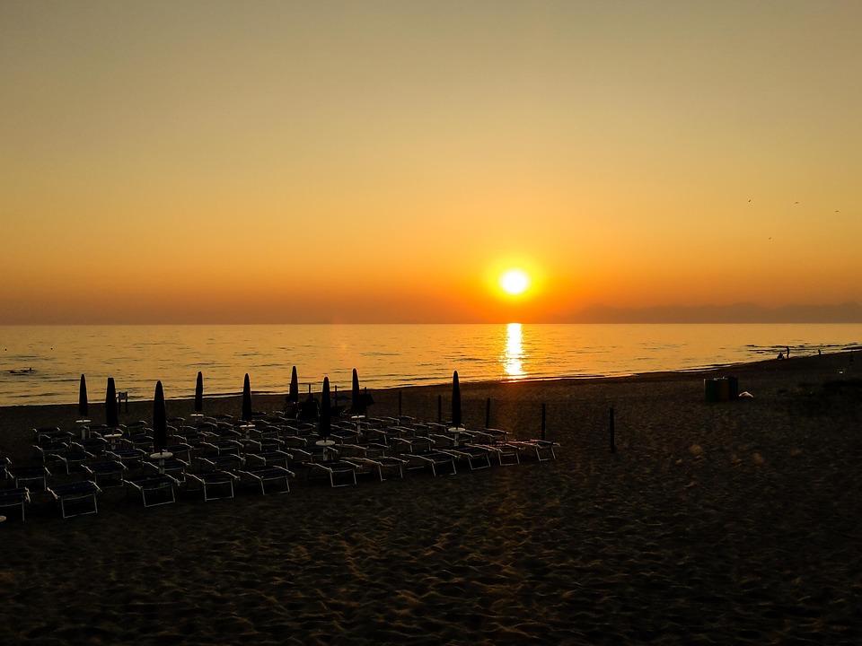 Sun, Beach, Sunset, Holidays, Evening, Romance, Heaven