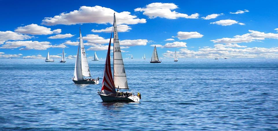 Sailing Boat, Sail, Vacations, Holidays, Summer Holiday