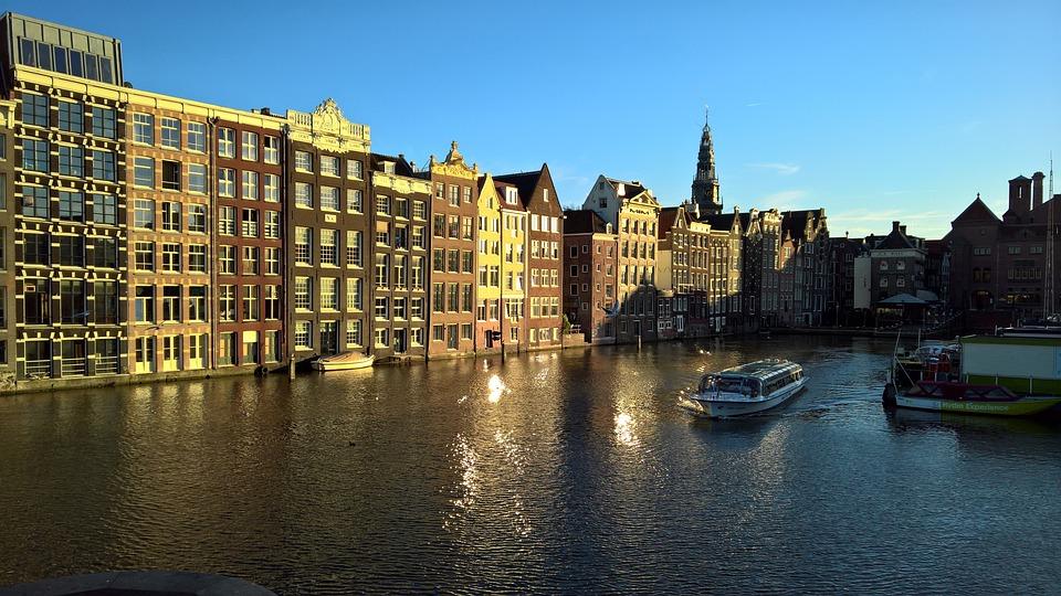 Amsterdam, Holland, Canal, Netherlands, Dutch, City