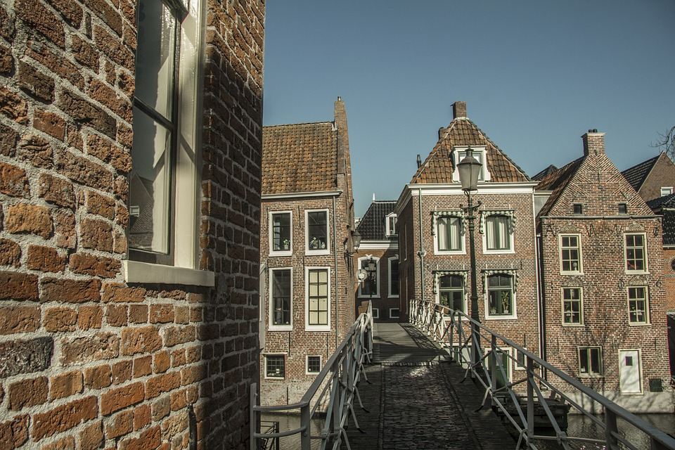 Netherlands, Amsterdam, Old, Holland, Building