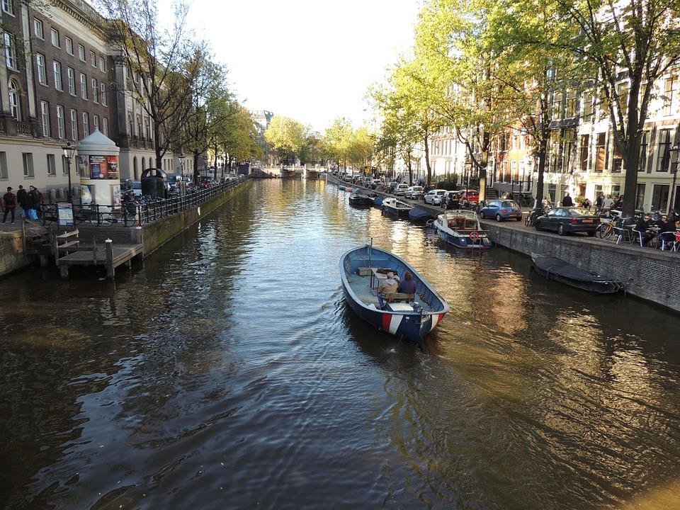 Amsterdam, River, Holland, Netherlands