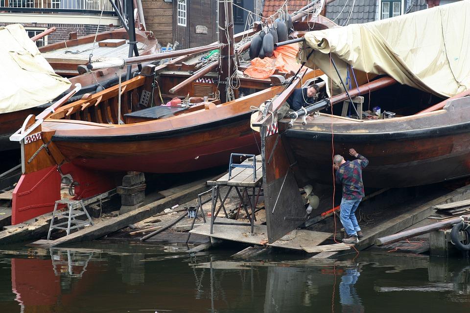 Boat, Builder, Repair, Holland, Dutch, Tradition