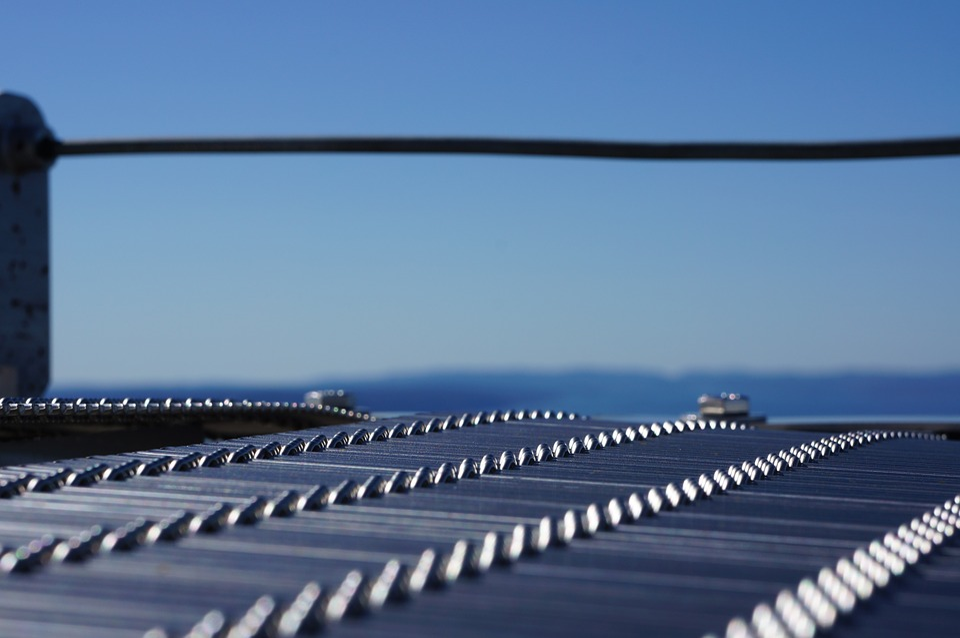 Holmenkollen, View, Blue, Railing