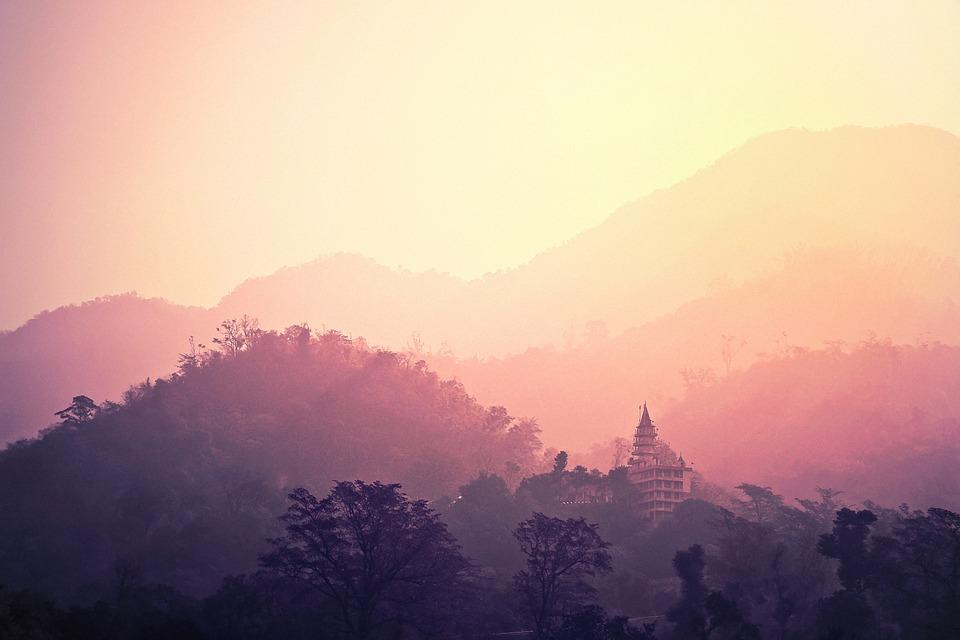 Temple, Rishikesh, India, Hindu, Holy, Hinduism, Asia