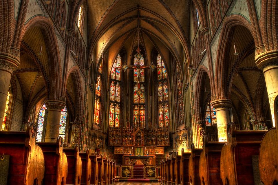 Church, Altar, Mass, Religion, Christian, Holy
