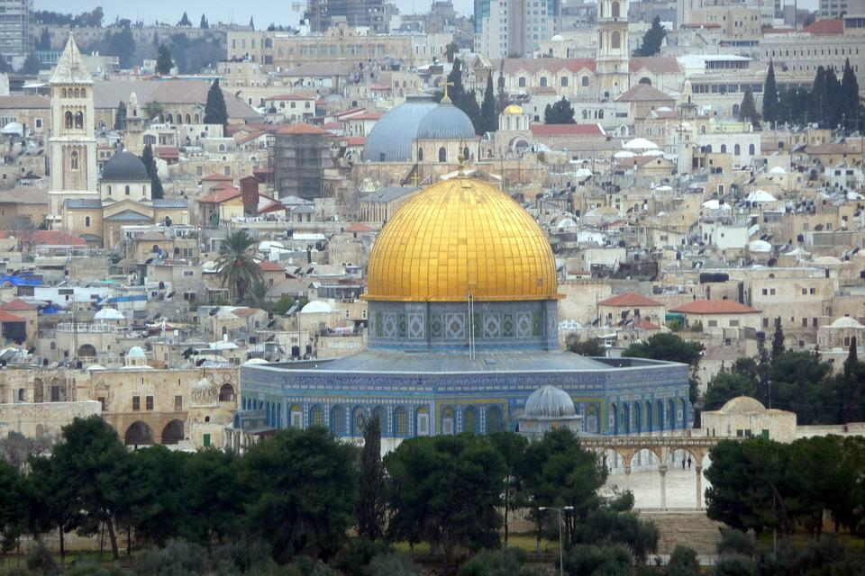 Israel, Jerusalem, Dome Of The Rock, Temple, Holy
