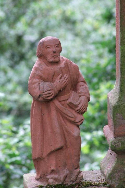 Holy, Statue, Josef, Monument, Sand Stone, Religion