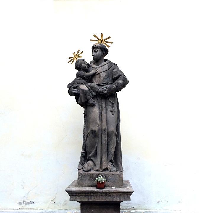 Holy, Prague, Statue, Czech Republic, Old Town, Fig