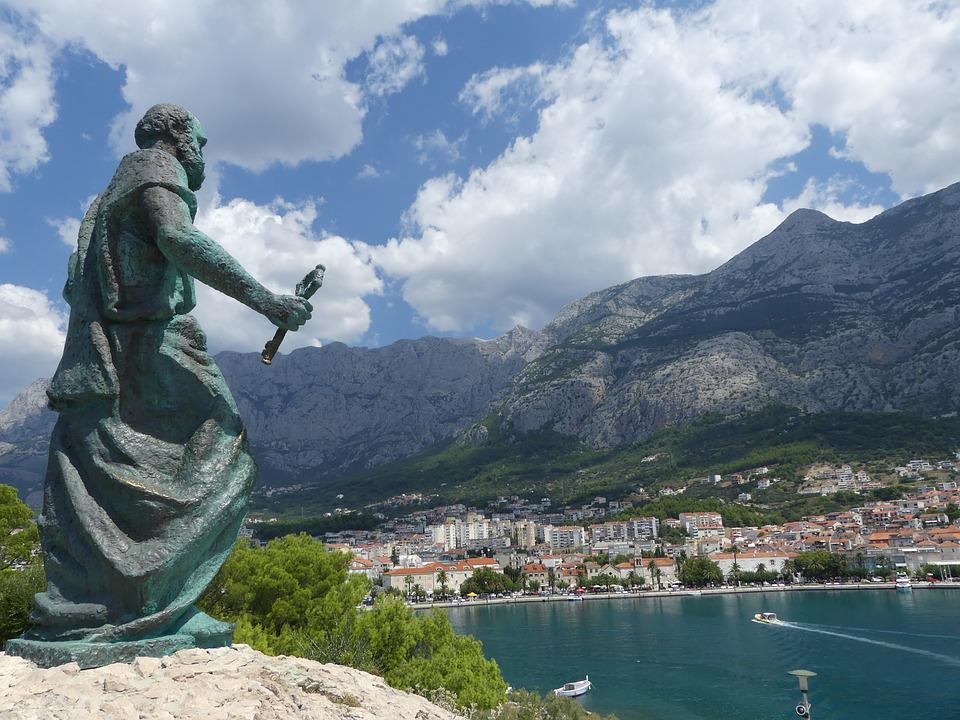 Makarska, Croatia, Mountains, Saint Peter, Holy