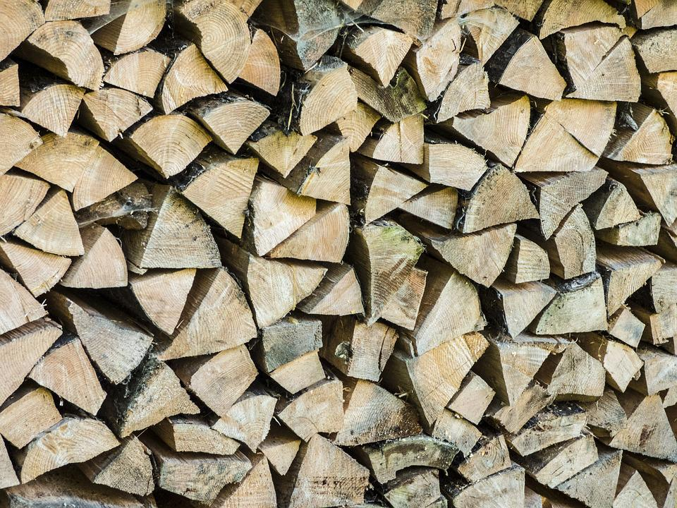 Wood, Firewood, Growing Stock, Holzstapel, Stacked Up