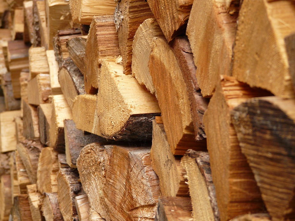 Wood, Holzstapel, Firewood, Log, Heat, Growing Stock
