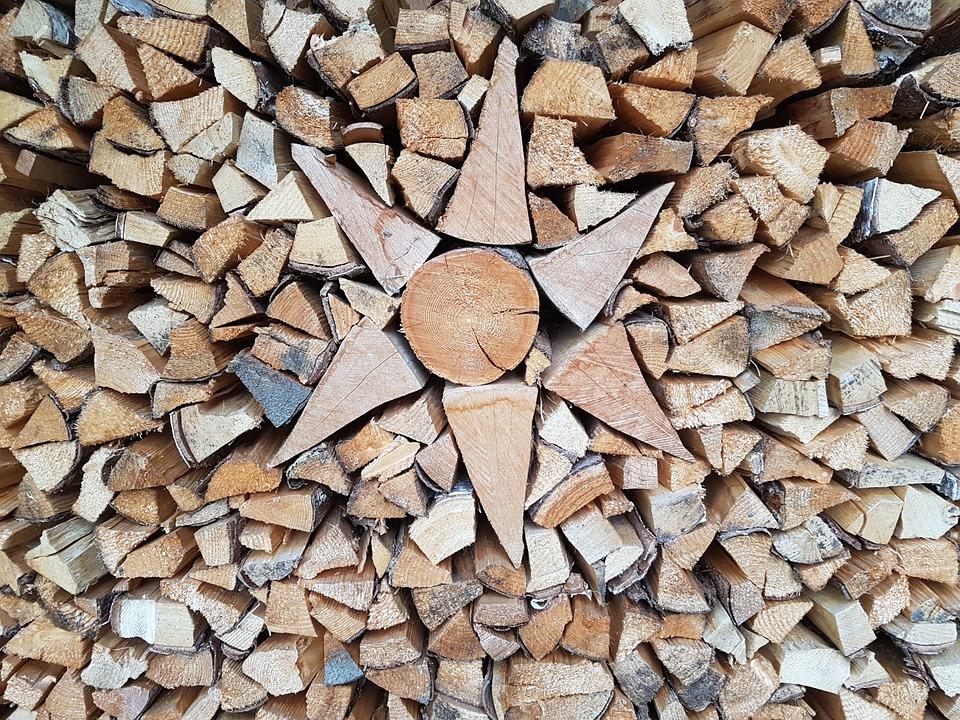 Firewood, Log, Holzstapel, Wood, Stack