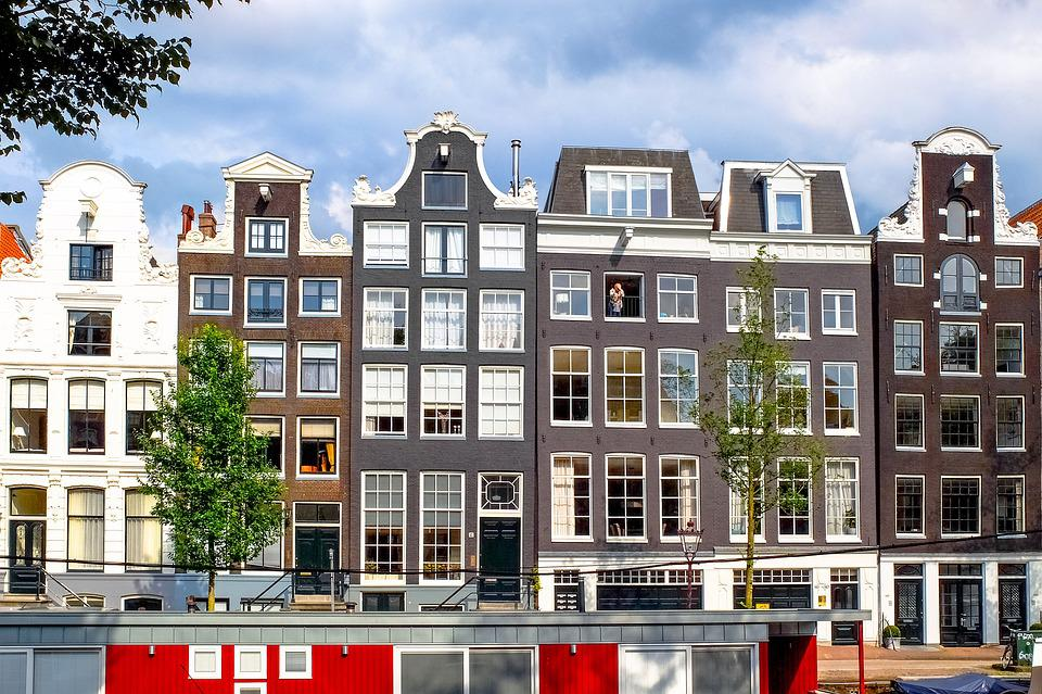 Home, House, Facade, Brick, Painted Brick, Architecture