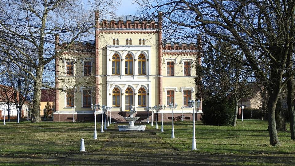 Architecture, Old, Building, Tree, Home, Park, Villa