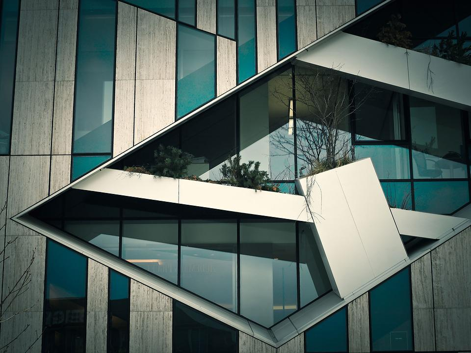 Architecture, Modern, Window, Building, Home, Geometric
