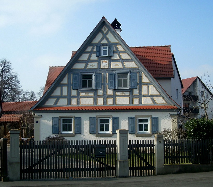 Fachwerkhaus, Truss, Building, Home, Architecture, Wood