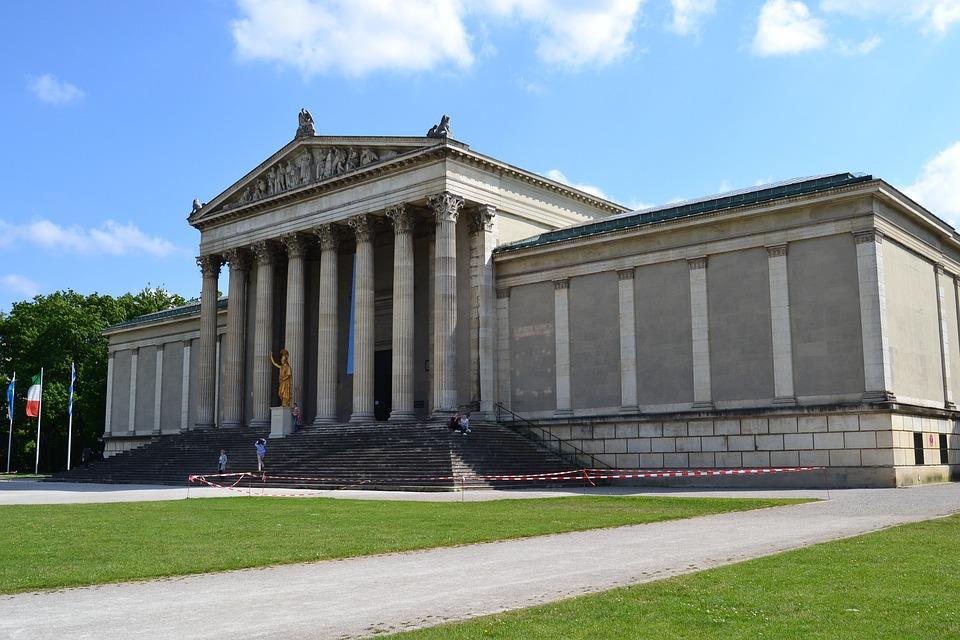 Court Of Justice, Munich, Bavaria, Home, Architecture